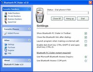 Bluetooth PC Dialer screenshot